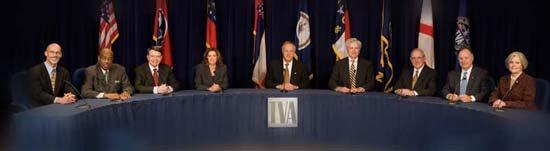 TVA's first nine-member board in 2006